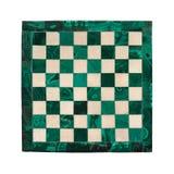 Tablero de ajedrez de mármol imágenes de archivo libres de regalías