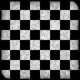 Tablero de ajedrez del Grunge Ilustración del Vector