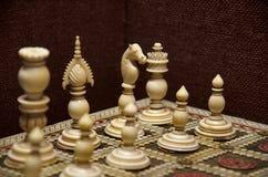Tablero de ajedrez, museo de Kelkar, Pune, maharashtra, la India imágenes de archivo libres de regalías
