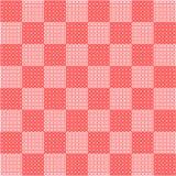 Tablero de ajedrez rosado Fotografía de archivo