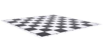 Tablero de ajedrez vacío Fotos de archivo libres de regalías