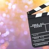 Tablero de chapaleta de la película Foto de archivo libre de regalías