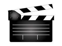 Tablero de chapaleta de la película, fabricante de película Fotos de archivo libres de regalías