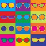 Tablero de damas de las lentes Fotografía de archivo libre de regalías