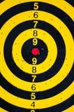 Tablero de dardos Imagen de archivo