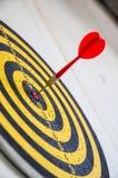 Tablero de dardos Foto de archivo libre de regalías