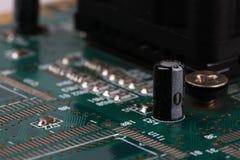 Tablero de electrónica Imagenes de archivo