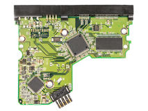 Tablero de electrónica del ordenador Foto de archivo