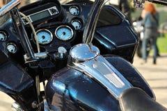 Tablero de instrumentos de la moto Imagen de archivo libre de regalías