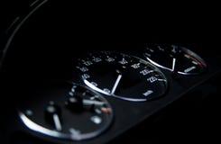 Tablero de instrumentos del coche Foto de archivo libre de regalías