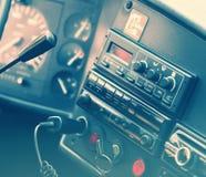 Tablero de instrumentos genérico del camión Fotos de archivo libres de regalías