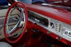 Tablero de instrumentos rojo Fotos de archivo