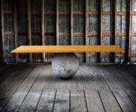 Tablero de la balanza en sitio imagen de archivo libre de regalías