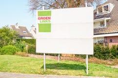 Tablero de la elección en los Países Bajos Imagenes de archivo