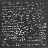 Tablero de la fórmula Imagenes de archivo
