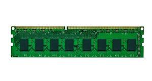 Tablero de la memoria de computadora Imagen de archivo libre de regalías