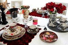 Tablero de la mesa de la vendimia Foto de archivo libre de regalías