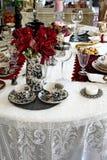 Tablero de la mesa retro Foto de archivo libre de regalías