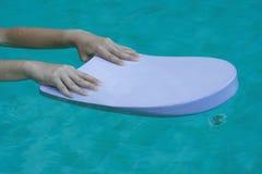 Tablero de la natación Fotos de archivo libres de regalías