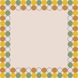Tablero de la presentación de diseño color nata del fondo de la actual tarjeta fotos de archivo libres de regalías