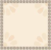 Tablero de la presentación de modelo tradicional con textura anaranjada y azul coloreada ilustración del vector