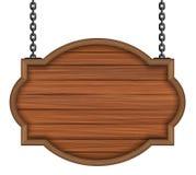 Tablero de madera Fotos de archivo
