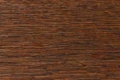 Tablero de madera del marrón oscuro Foto de archivo libre de regalías
