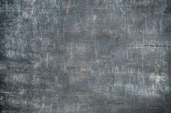 Tablero de madera greay oscuro con los rasguños Imagen de archivo