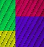 Tablero de madera multicolor aislado imagen de archivo