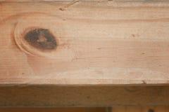 Tablero de madera para el fondo Foto de archivo libre de regalías