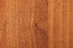 Tablero de madera polvoriento con un nudo en el centro Imagen de archivo