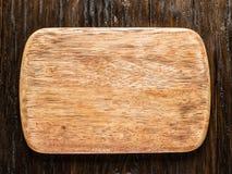 Tablero de madera que taja vacío Imágenes de archivo libres de regalías