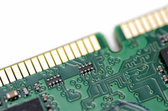 Tablero de memoria de computadora personal Imagenes de archivo
