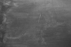 Tablero de tiza en blanco Fotos de archivo libres de regalías