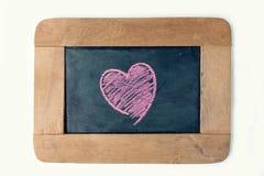 Tablero del amor Fotografía de archivo libre de regalías