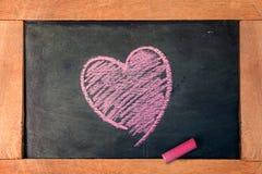 Tablero del amor Imagen de archivo