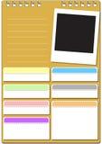 Tablero del bloque Foto de archivo libre de regalías