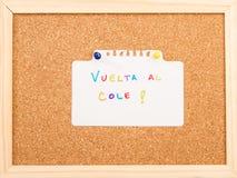 Tablero del corcho Fotos de archivo libres de regalías