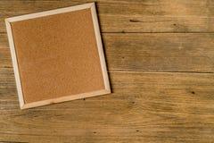 Tablero del corcho de Brown Fotos de archivo libres de regalías