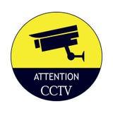 Tablero en funcionamiento del CCTV libre illustration