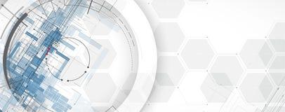 Tablero futurista abstracto b de la tecnología de Internet del ordenador del circuito libre illustration