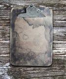 Tablero manchado viejo Fotografía de archivo