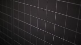 Tablero negro a cuadros en escuela stock de ilustración