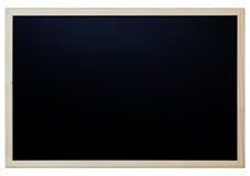 Tablero negro de madera Imagenes de archivo