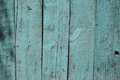 Tablero pintado azul Fotos de archivo libres de regalías