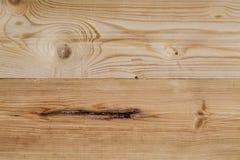 Tablero previsto del pino con los nudos foto de archivo libre de regalías