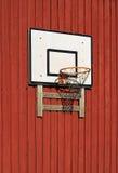 Tablero trasero de baloncesto Imágenes de archivo libres de regalías