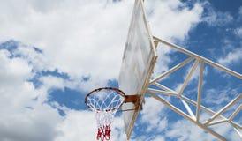 Tablero trasero de baloncesto Imagenes de archivo