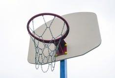 Tablero trasero de baloncesto Foto de archivo libre de regalías