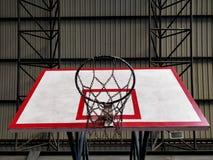 Tablero trasero de baloncesto foto de archivo